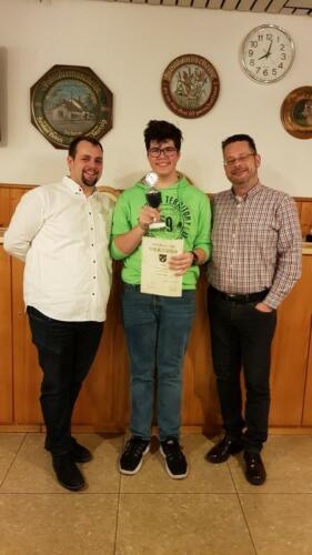 Ehrung Vereins- & Blattlmeister, Jahrespreiswertung 2018